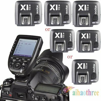 Godox Xpro-N i-TTL HSS 2.4G Wireless Flash Trigger + X1R-N Receiver For Nikon