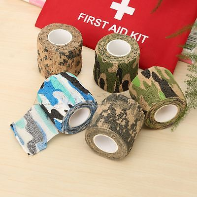 2pcs 5cm*4.5M Elbow Bandage Knee Pad Support Protection Adhesive Tape Sport Home