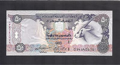 United Arab Emirates p-22 , UNC , 50 Dirhams, 1998 , UAE , U.A.E
