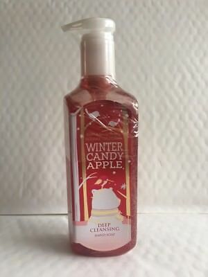 Bath & Body Works WINTER CANDY APPLE Deep Cleansing Hand Soap 236ml