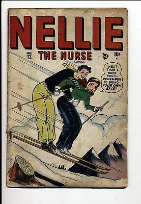 Nellie The Nurse #12 G/vg 1948