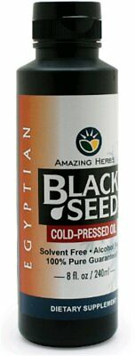 Egyptian Black Seed Oil, Amazing Herbs, 32 oz