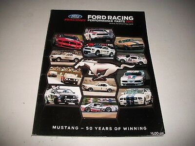 2017 Ford Performance Parts Catalog Mustang Brakes Suspension Crate Engines