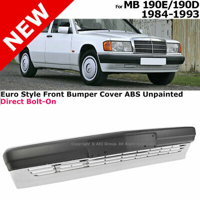 1984-1993 190D 190E Front Bumper Cover Assembly Primer W201 Complete Body Kit