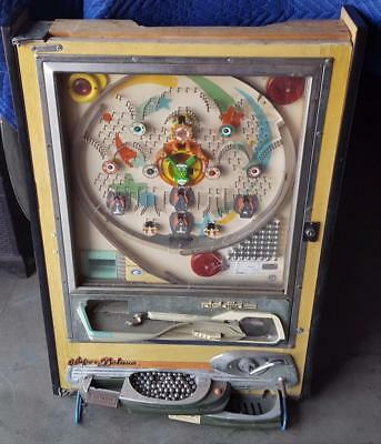 Vintage 1970s Nishijin Super Deluxe Pachinko Pin Ball Game - NEEDS RESTORATION