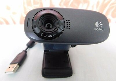 Logitech HD 720p Fluid Crystal Wide Webcam C310 P/N: 860-000443 Model V-U0015