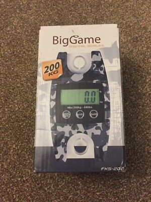 Big Game Digital Scales Up To 200kg