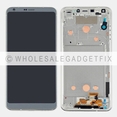 Platinum LCD Display Touch Screen Digitizer + Frame Replacement Parts For LG G6