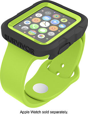 Griffin Technology - Survivor Tactical Cover for Apple Watch42mm - Green