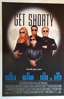 """Get Shorty (1995) original one sheet movie poster (27""""x40"""") rolled S/S"""
