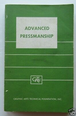 Advanced Pressmanship  1965