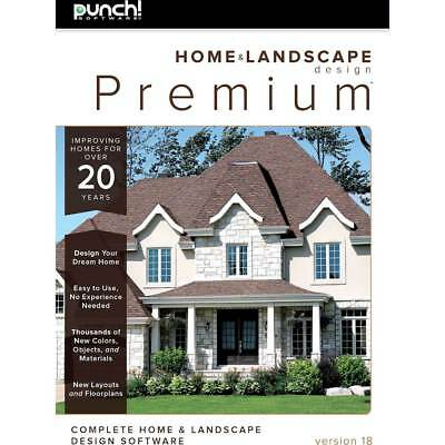 PUNCH! HOME & Landscape Design with NexGen Technology [Old Version ...