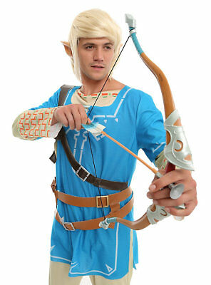 Legend Of Zelda Breath Of The Wild Link Toy Bow And Arrow Costume Accessory New
