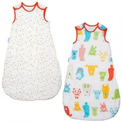 Gro Company - Grobag Baby Sleeping Bags Tog 1.0 2.5 - TWIN PACKS in Spotty Bear