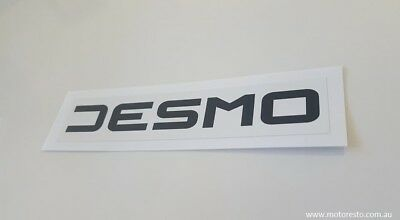 Ducati Desmo Decal New