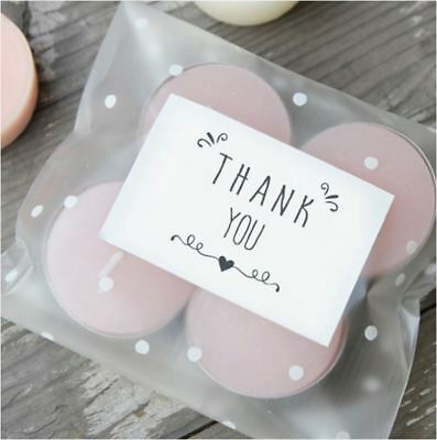 42X Thank You Sticker / Label / Cookie Bag Sealer / Wedding Party Gift Decor