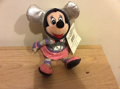 DIsney Beanies SPACEMAN MINNIE MOUSE Disney Store With Tag