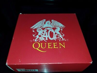 Queen - 40 Limited Edition Collector's Box Set CD