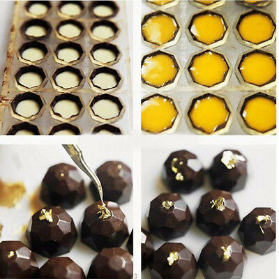 Clear Hard Chocolate Maker Polycarbonate PC DIY 21 Half Ball Candy Mold Mould
