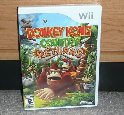 Nintendo Wii - DONKEY KONG COUNTRY RETURNS (Brand NEW Sealed) NTSC Family Game