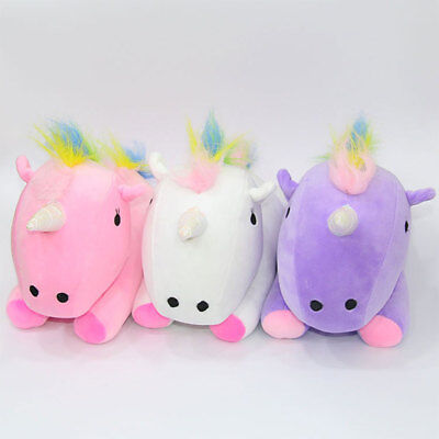 Rainbow Pony Horse Doll Pillow Festival Nursery Comfortable Kids Gifts Toy