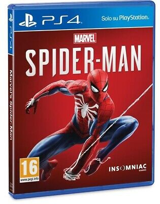 Videogioco Marvel Spider-Man Ps4 Gioco Italiano Play Station 4 Spiderman Pal Ita