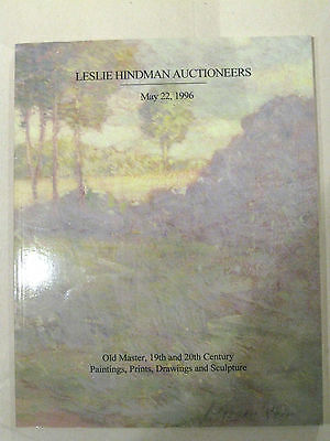 Leslie Hindman Auction (Chicago) Catalog - May 22, 1996
