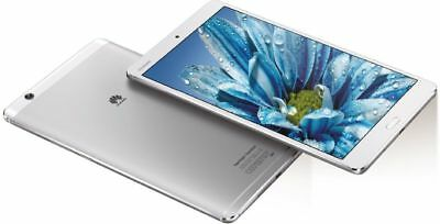 """Huawei MediaPad M3 32GB Silver WiFi Android Tablet PC 8,4"""" Display Fingerabdruck"""
