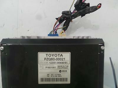 Toyota Hiace Radio/mp3/cd Player (P/n On Face 12848), Trh/kdh, 03/05- 05 06 07