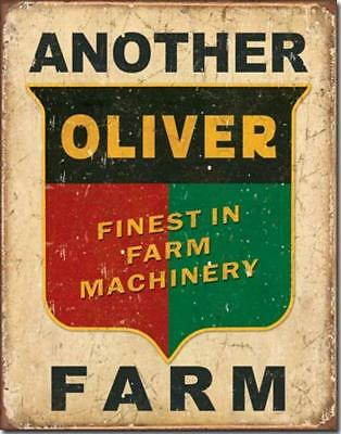 Another Oliver Farm Finest Machinery Tractor Rustic Nostalgic Tin Metal Sign New