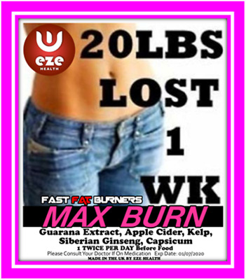 Strongest Weight Loss Pills No1 Fat Burners  Diet Slimming **now £4 Off