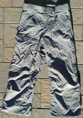 The North Face Snowboard Ski Snow Pants Gray Hyvent Mens Size Small S/P