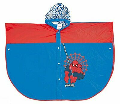 Mantella poncho Spiderman 7/8 anni