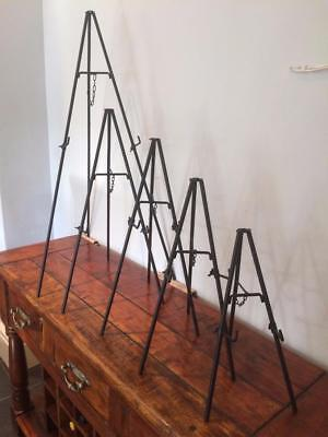 Iron Easel Tripod Display Canvas Picture Artwork Menu Book Plate Stand Wedding
