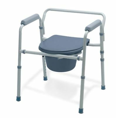 Folding 3-In-1 Commode, Each