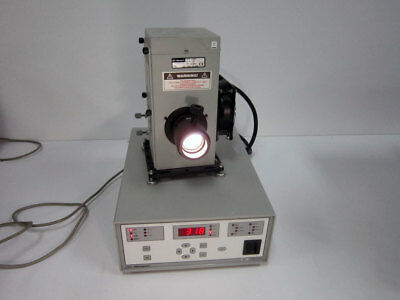 Newport 69911 Power Supply With 67005 Light Source 67015 Xenon Arc Lamp