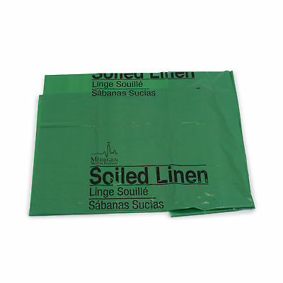 "Soiled Linen Bag Soiled Linen Bag, 40""x46"", Green 250 pk"