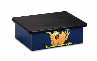 "Pediatric Step Stool 16""W x 20""L x 7""H Hyena Theme 1 ea"