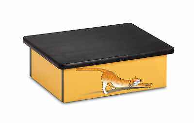 "Pediatric Step Stool 16""W x 20""L x 7""H Cat Theme 1 ea"