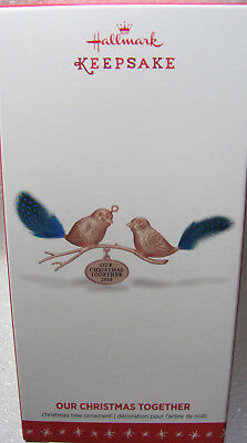 """Halmark Keepsake Ornament 2016 """"Our Christmas Together"""" New in Box"""