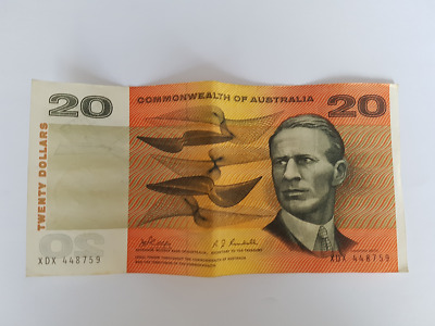 C Of A - 1968 Australian $20 Paper Banknotes Phillips/Randall