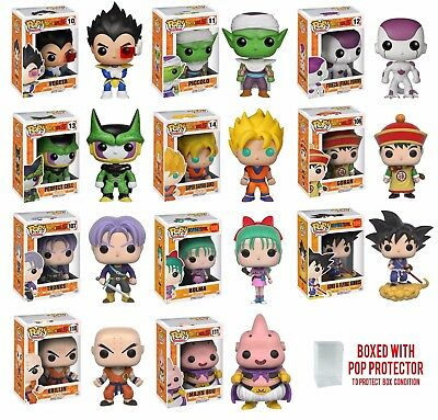 Funko Pop Dragon Ball Z : Goku, Vegeta, Piccolo, Gohan, Goten Vinyl Figure 1x