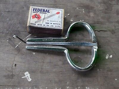 "large vintage jews jaw mouth harp ..... ""ENGLAND"""
