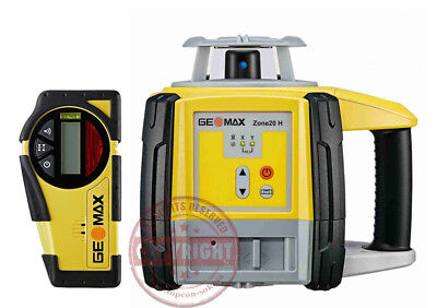 Geomax Zone 20H Self-Leveling Slope Rotary Laser Level,transit,topcon,spectra