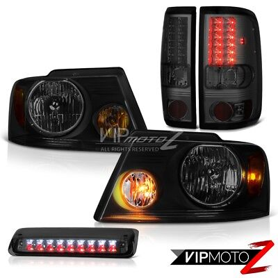 """04-08 Ford F150 XL Headlights Roof Cab Lamp Taillights OE Style """"Super Bright"""""""