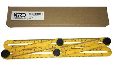 Angle-izer Template Tool Ruler Forms Any Multifunctional Diy Projects Expert NEW