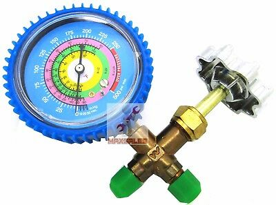 R410a R12 R22 Single Manifold Gauge 4 Testing Charging Air Condition Freon
