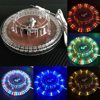 LED RGB Light 5W Auto Sunflower Rotating Home Party Stage Club KTV Disco Lamp
