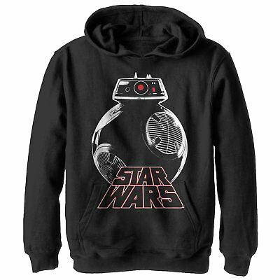 Star Wars The Last Jedi Droid Boys Graphic Lightweight Hoodie
