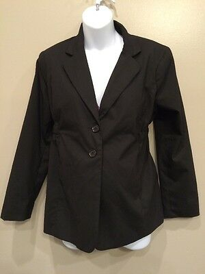 Motherhood Maternity Special Edition Large Nursing Business Jacket EUC